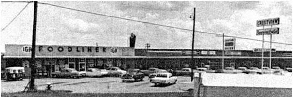 Crestview Shopping Center 1966